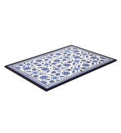 Reinvention Factory Multicolour Wooden Placemats With Iznik Design - Set Of 6