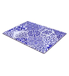 Reinvention Factory Multicolour Wooden Placemats With Tiles Design - Set Of 6