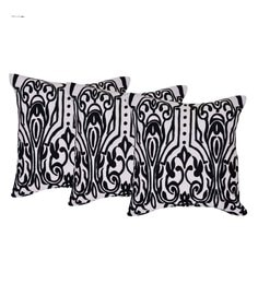 Reme Multicolour Cotton 18 X 18 Inch Ari Work Cushion Covers - Set Of 3 - 1593138