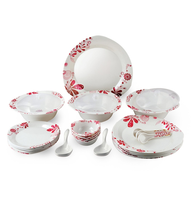 Melamine 40-Piece Dinner Set by Recon