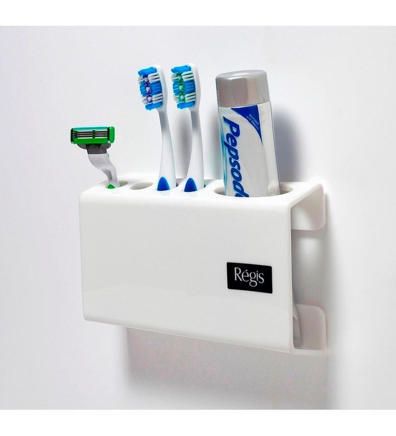 Buy Regis Snow Acrylic Toothbrush Holder Online