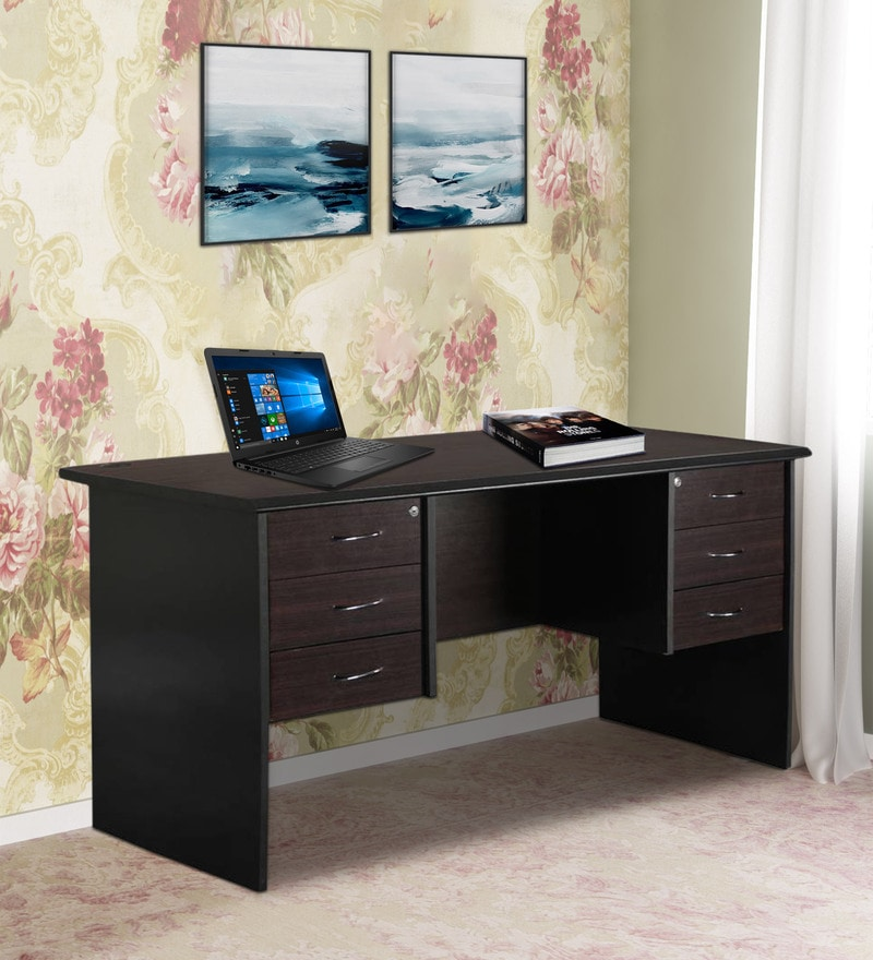Outstanding Buy Kallax Executive Office Desk In Black And Natural Colour Download Free Architecture Designs Osuribritishbridgeorg