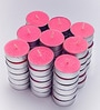 Candles Pink Tea Light Candles - Set of 50 by Resonance