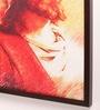 Retcomm Art Wooden 18 x 1 x 24 Inch Jesus Christ Divine Framed Canvas Painting