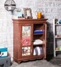 Levert Sideboard in Brown Distress Finish by Bohemiana