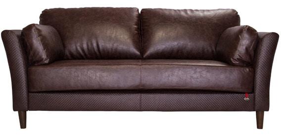 Richmond Three Seater Sofa In Chocolate Brown Colour