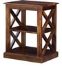 Fife End Table in Provincial Teak Finish by Woodsworth