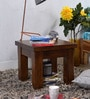 Morton Grande End Table in Provincial Teak Finish by Woodsworth
