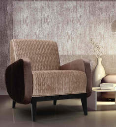 Ross Arm Chair In Brown Colour By Bent Chair