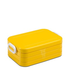 Rosti Lunch Box Take A Break, Midi - Eos Yellow (With Dividers)