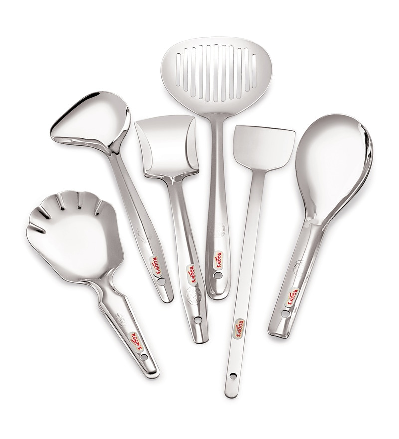 Roops Stainless Steel Serving Spoon Set