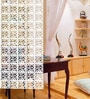 White Acrylic Room Divider by Planet Decor