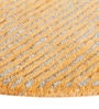 Orange Wool 28 Inch Area Rug by The Rug Republic