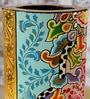 Rural Craft Multicolour MDF Flower Vase