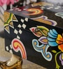 Rural Craft Multicolour MDF Hand painted Black Box