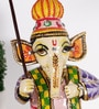 Rural Craft Multicolour MDF Lord Ganesha with Umbrella