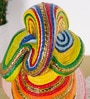 Rural Craft Multicolour Resin Ganapati