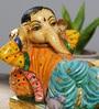 Multicolour Polyresin Rajhasthani Showpiece by Rural Craft