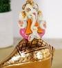 Rural Craft Multicolour Resin Shank Ganesha