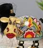 Multicolour Polyresin Showpiece by Rural Craft
