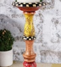 Multicolour Wooden Classy Candle Stand by Rural Craft