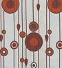Orange Poly Viscose 44 x 72 Inch Window Blind by Presto