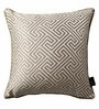 S9Home by Seasons Beige Polyester 16 x 16 Inch Cushion Cover with Piping - Set of 2