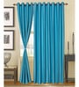 Blue Door Curtains Polyester (Set of 2) by S9home by Seasons