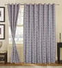S9home by Seasons Multicolour Polyester Ethnic Window Curtain - Set of 2