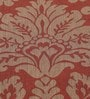S9home by Seasons Damask Red & Brown Polyester Table Cloth