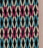 S9home by Seasons Geometrical Multicolour Polyester Table Runner