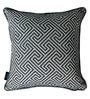Royal Blue Polyester 16 x 16 Inch Cushion Cover with Piping - Set of 2 by S9home by Seasons