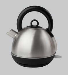 Sabichi Brushed Steel 1.5 Litres Silver Electric Kettle