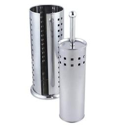 Sabichi Value Squares Steel Toilet Brush & Roll Holder