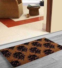 Saral Home Grey Coir 36 X 18 Inch Premium Quality Heavy Duty Door Mat - 1600014