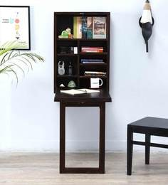 Savannah Space Saver Study Table In Warm Chestnut Finish