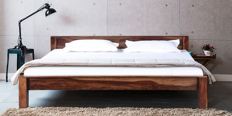 Savannah King Sized Bed in Provincial Teak Finish by Woodsworth