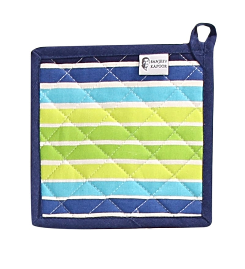 Sanjeev Kapoor Bon Appetit Aquacado Green Pot Holder