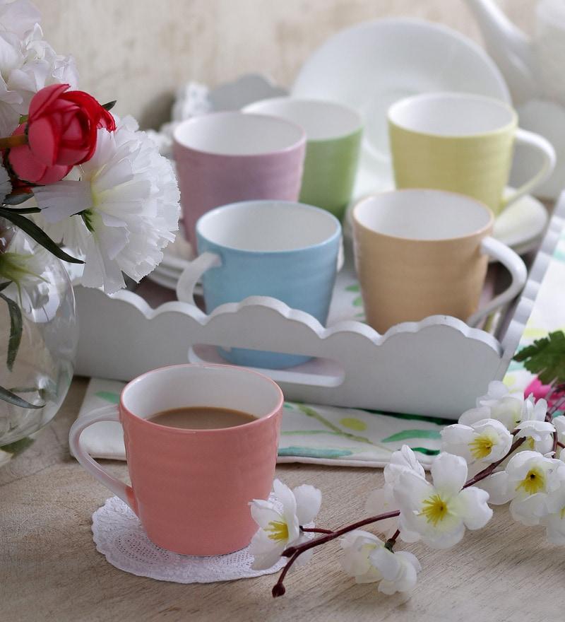 Sanjeev Kapoor's  Alfa Coffee Mugs - Set of 6