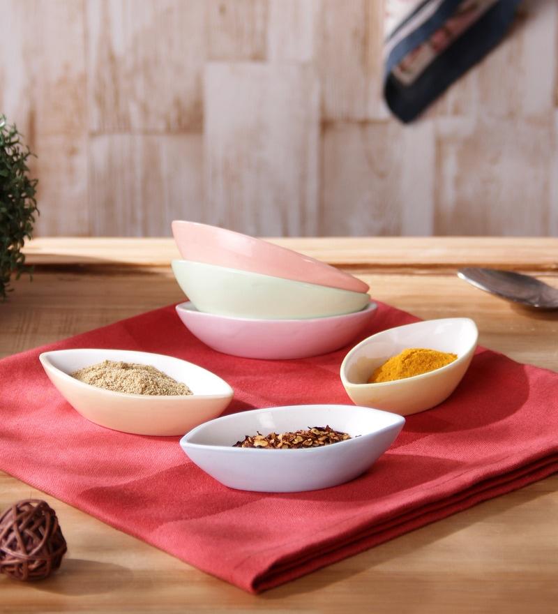 Sanjeev Kapoor's Leaf Dip Bowls - Set of 6