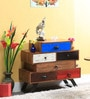 Abba Chest of Drawers in Multi-Color Finish by Bohemiana