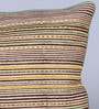Sadyaska Brown Cotton 12 x 18 Inch Avni Printed Cushion Cover