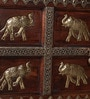 Shilodhruv Sideboard with Repousse Work by Mudramark