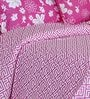 Salona Bichona Pink Double Bed Sheet Set