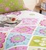 Salona Bichona Multicolour Cotton Single Size Bed Sheet Set of 2