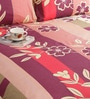 Multicolour Poly Cotton Queen Size Bedsheet - Set of 3 by Salona Bichona