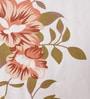 Salona Bichona Yellow 100% Cotton Queen Size Bedsheet - Set of 3