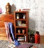 Oakville Book Shelf in Provincial Teak Finish by Woodsworth