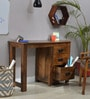Polson Study & Laptop Table in Provincial Teak Finish by Woodsworth