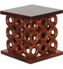 Bromley Round Coffee Table Set in Dual Tone Finish by Amberville